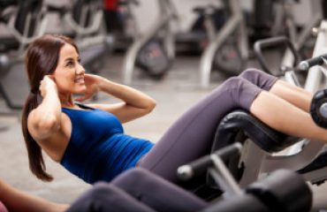 Loose weight with ab equipment