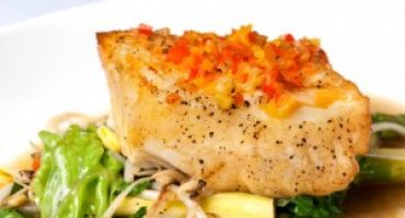 Healthy Recipe: Hoisin-Glazed Halibut with Bok Choy