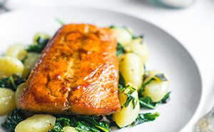 Healthy Recipe: Grilled Salmon & Zucchini