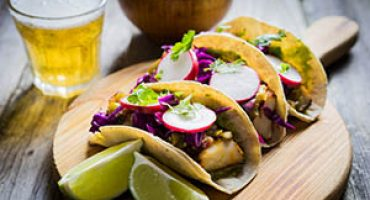 Healthy Lunch Recipe – Grilled Fish Tacos