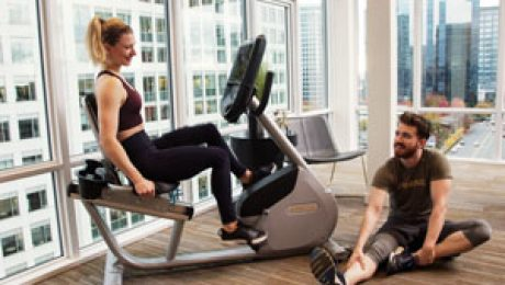 Precor RBK 665 Recumbent Bike