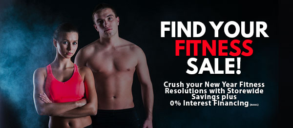 """Find Your Fitness"" New Years Sale!"