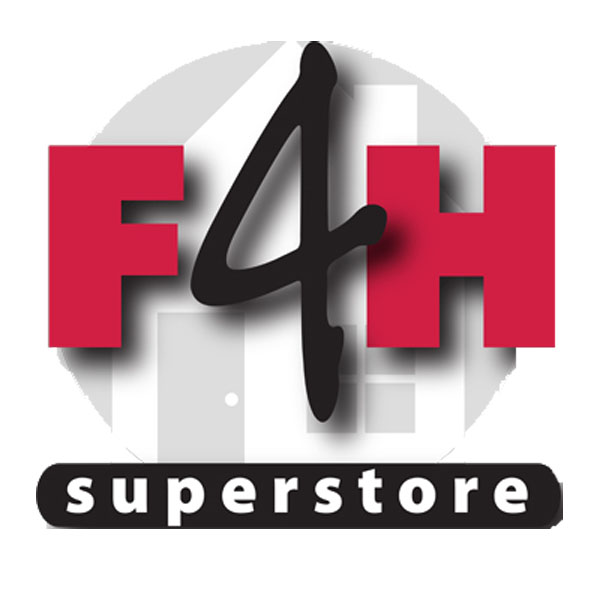 Fitness 4 Home Superstore - Logo - Available at Fitness 4 Home Superstore - Chandler, Phoenix, and Scottsdale, AZ. Locations close to Tempe, Peoria, Glendale, & Mesa!