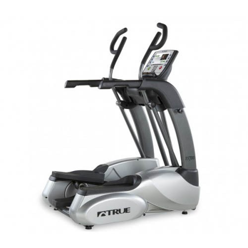 True ES700 Elliptical right angle view
