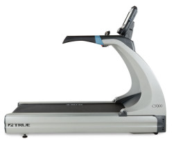 True CS900 Treadmill right side view