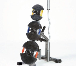 TuffStuff CXT-155 Olympic Plate Tree - Available at Fitness 4 Home Superstore - Chandler, Phoenix, and Scottsdale, AZ. Locations close to Tempe, Peoria, Glendale, & Mesa!