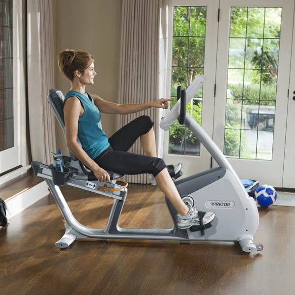 Precor RBK 835 comfortable seating