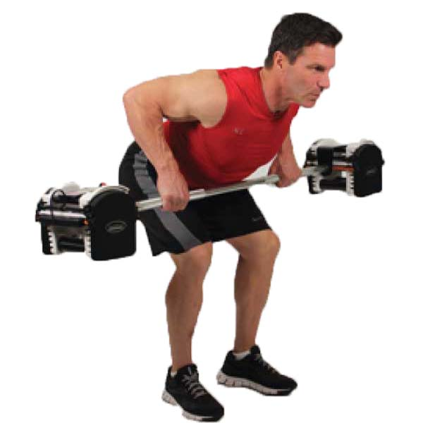 T Bar Row Sufficient Replacement For Barbell Row Fitness: PowerBlock Urethane Straight Bar