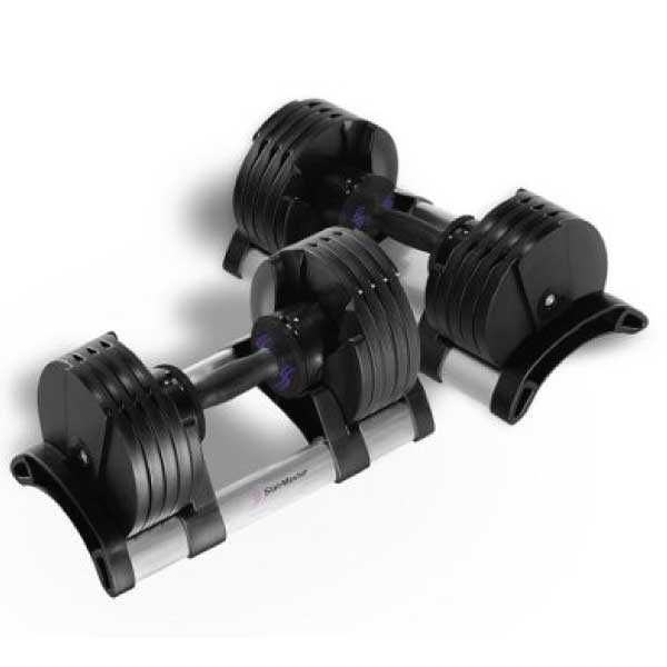StairMaster TwistLock pair of dumbbells - Available at Fitness 4 Home Superstore - Chandler, Phoenix, and Scottsdale, AZ. Locations close to Tempe, Peoria, Glendale, & Mesa!