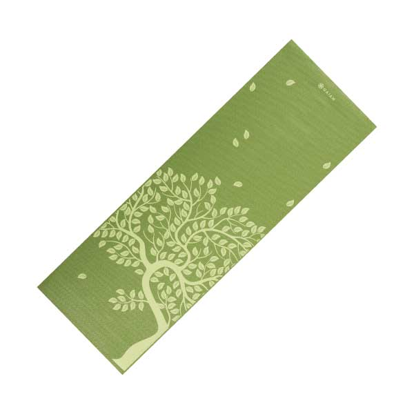 Gaiam Tree Of Life 3mm Printed Yoga Mat Fitness 4 Home