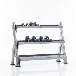 TuffStuff CDR-300 2-Tier Tray Dumbbell Rack – Evolution Series
