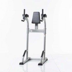 TuffStuff CVR-341 vertical knee raise dip stand front angle view - Available at Fitness 4 Home Superstore - Chandler, Phoenix, and Scottsdale, AZ. Locations close to Tempe, Peoria, Glendale, & Mesa!