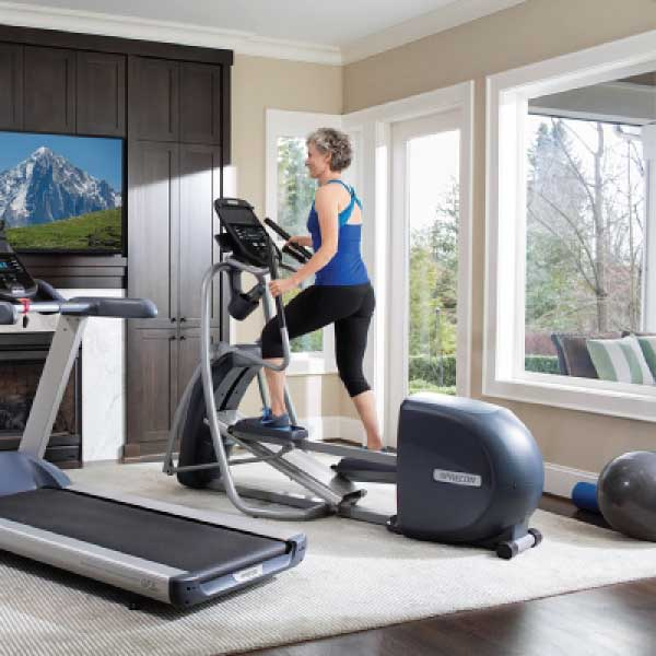 Precor Efx 447 Elliptical Fitness 4 Home Superstore