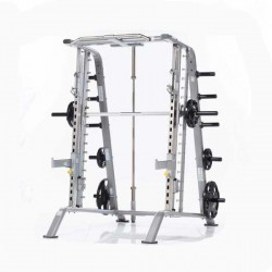 TuffStuff CSM-600 Smith Machine / Half Cage Combo   - Commercial Gym Equipment from Commercial Fitness Superstore of Arizona.
