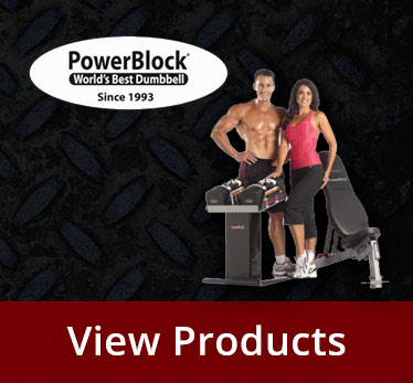 PowerBlock Dumbbells & Kettlebells - available at Fitness 4 Home Superstore