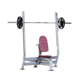 TuffStuff PPF-710 Olympic Military Bench at Commercial Fitness Superstore of Arizona.