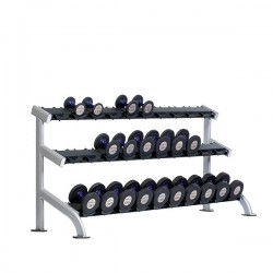 TuffStuff PPF-754 3-Tier Saddle Dumbbell Rack at Commercial Fitness Superstore of Arizona.