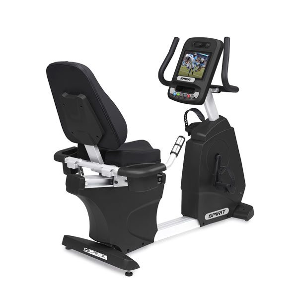 Spirit CR800ENT Entertainment Recumbent Bike