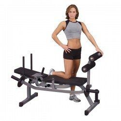 Body Solid GAB100 Horizontal Ab Crunch Bench