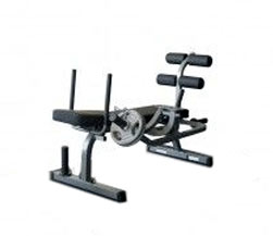 Body Solid GAB100 Horizontal Ab Crunch Bench