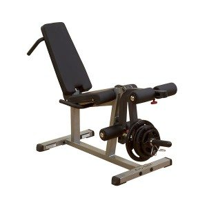"Body Solid GLCE365 2"" x 3"" Adjustable Supine Leg Curl / Extension Station"