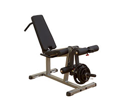 """Body Solid GLCE365 2"""" x 3"""" Adjustable Supine Leg Curl / Extension Station"""