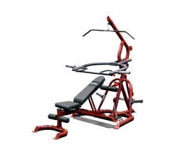 Body Solid GLGS100P4 Corner Leverage Gym Package