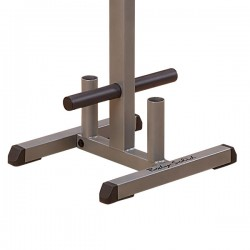 Body Solid GOWT Olympic Plate Tree and Bar Holder