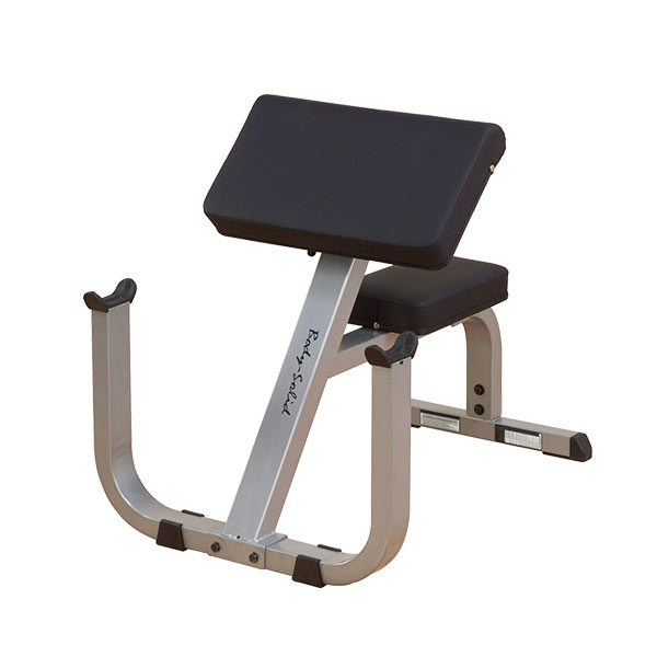 "Body Solid GPCB329 2"" x 3"" Preacher Curl Bench"