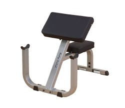 Body Solid GPCB329 2″ x 3″ Preacher Curl Bench