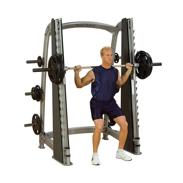 Body Solid SCB1000 Pro Clubline Counter Balanced Smith Machine