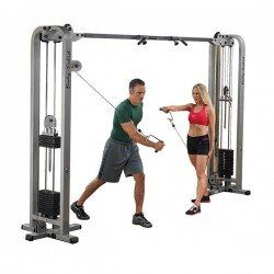 Body Solid SCC1200G/1 Pro Clubline Cable Crossover with 2-165 lb weight stack