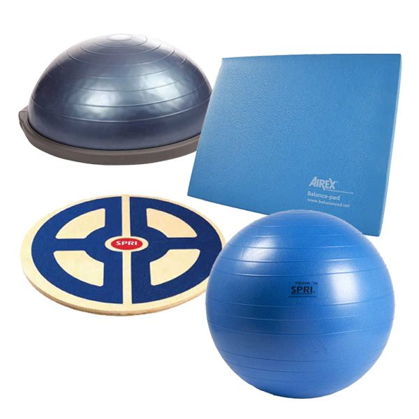 Balance & Stability Training  - Available at Fitness 4 Home Superstore - Chandler, Phoenix, and Scottsdale, AZ. Locations close to Tempe, Peoria, Glendale, & Mesa!
