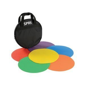 SPRI Agility Dots Set with Carry Bag