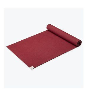 SPRI Power-Grip Yoga Mat 4mm 24x68 Cranberry