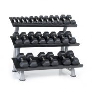 Hampton Dura-Bell Dumbbells Horizontal Racking Club Pack