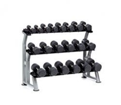 Hampton Dura-Pro Dumbbells Horizontal Racking Club Pack