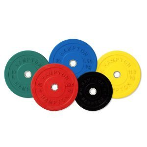 Hampton Olympic Rubber Coated Bumper Plates