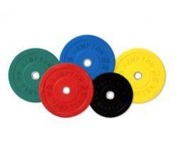 Hampton Olympic Rubber Coated Bumper Plates