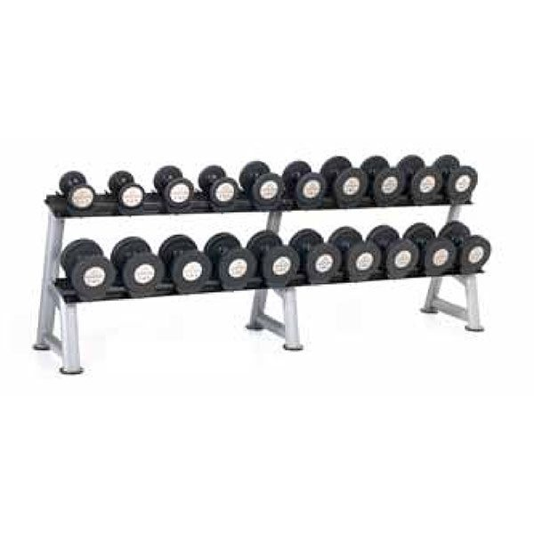Hampton Gel-Grip Urethane Dumbbells - Club Packs