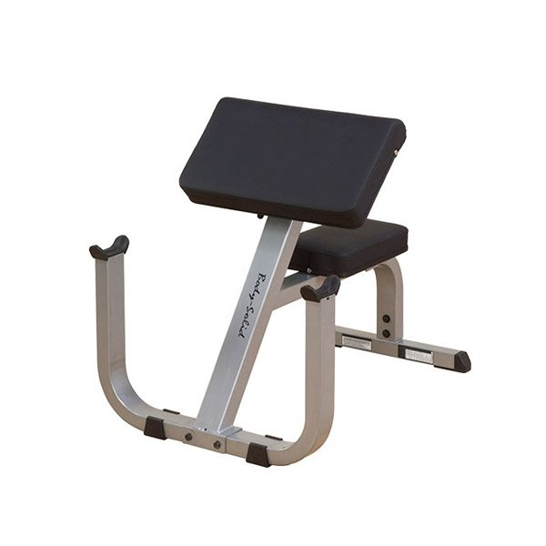 body solid gpcb329 2 quot x 3 quot preacher curl bench
