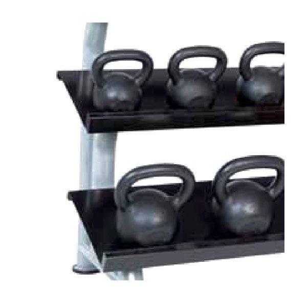 3 Tier Kettlebell Rack Gdkr50: Hampton Fitness 3T-FLT 3-Tier Flat Kettlebell Rack