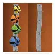 Prism Fitness Group – Wall Mounted Medicine Ball Rack