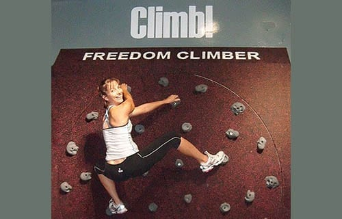 Freedom Climber Rotating Climbing Wall