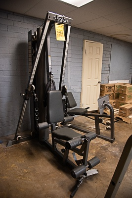 Tuff Stuff Cable Gym with Leg Press