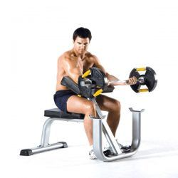 TuffStuff CAC-365 Arm Curl Bench