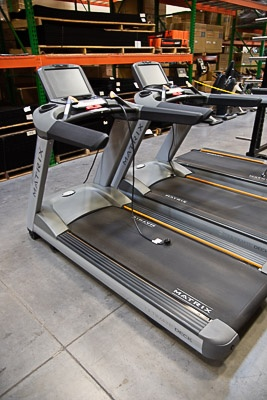 Matrix Treadmill with Touchscreen Display