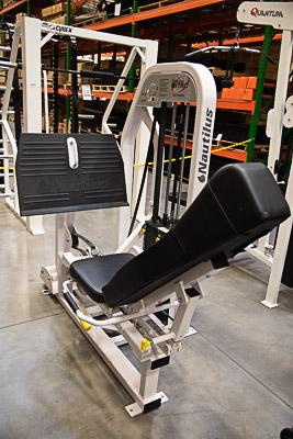 Nautilus Leg Press w/500 lb stack