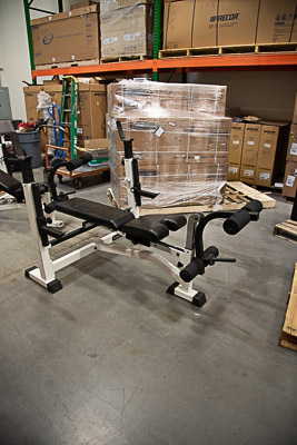 Nautilus Olympic Bench with extension
