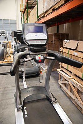 TRUE TCS550 Treadmill with LCD Screen